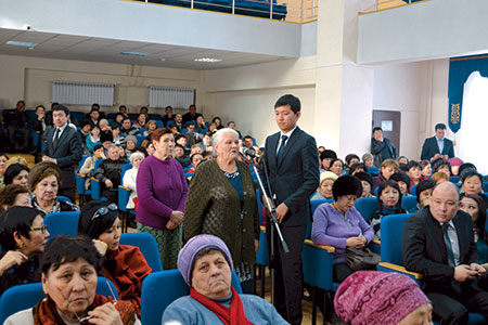 Новости: Акимы Астаны и Алматы отчитаются перед населением