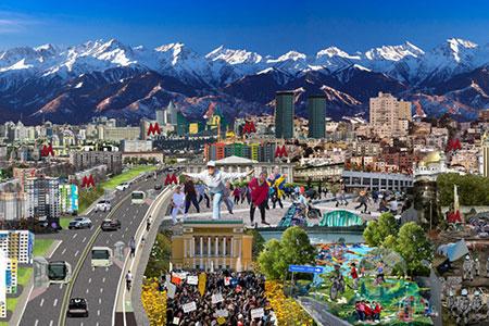 Новости: Исследование: Каким станет Алматы через 20лет