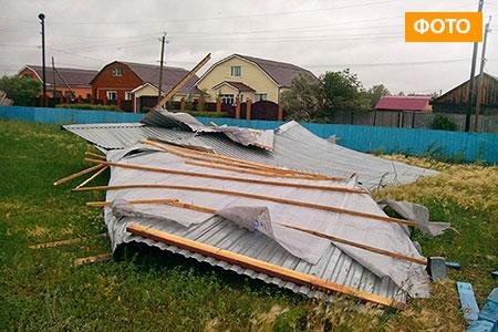 Новости: С многоэтажки после капремонта сдуло новую крышу