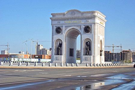 Новости: На Триумфальной арке в Астане откроют обзорную площадку