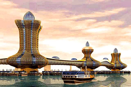 Новости: В Дубае начали разрабатывать детальный дизайн города Аладдина