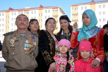 Новости: В Актау 400 семей справили новоселье