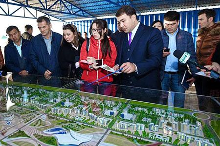 Новости: Свыше 300 высотных зданий построят вShymkentCity