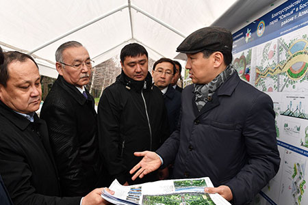 Новости: Байбек поручил изменить проект реконструкции парка«Южный»