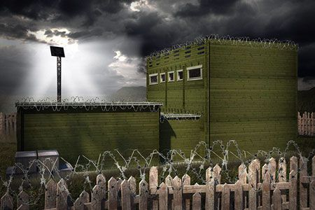 Новости: В Великобритании продаются коттеджи с защитой от зомби