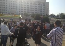 Новости: В Алматы обманутые дольщики вышли на акцию протеста