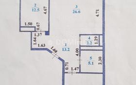 2-комнатная квартира, 84.7 м², 8/10 этаж, Динмухамеда Кунаева 14 — проспект Мангилик Ел за 34.5 млн 〒 в Нур-Султане (Астана), Есильский р-н