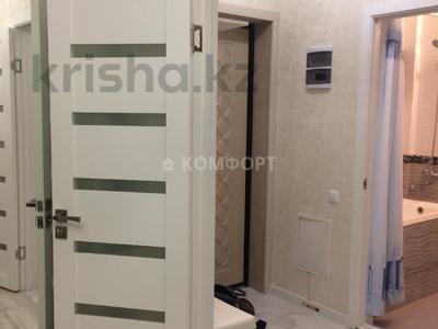 1-комнатная квартира, 42 м², 5/9 этаж помесячно, Алихана Бокейханова 11 за 100 000 〒 в Нур-Султане (Астана), Есиль р-н — фото 4