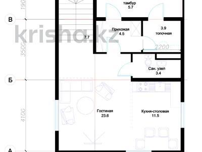 3-комнатный дом, 114 м², 7 сот., Мкр. Уркер 282 за ~ 25.1 млн ₸ в Нур-Султане (Астана), Есильский р-н — фото 3