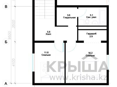 3-комнатный дом, 114 м², 7 сот., Мкр. Уркер 282 за ~ 25.1 млн ₸ в Нур-Султане (Астана), Есильский р-н — фото 4