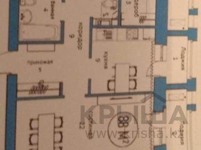 3-комнатная квартира, 85 м², 2/7 эт., Мангилик ел 33/2 за ~ 38.5 млн ₸ в Нур-Султане (Астана), Есильский р-н — фото 8