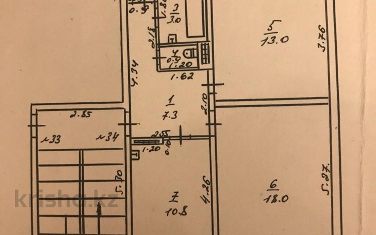 2-комнатная квартира, 53.5 м², 2/5 этаж, Кунаева 168 за 12 млн 〒 в Талгаре