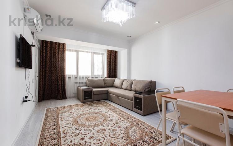 2-комнатная квартира, 55 м², 8 этаж помесячно, Достык 138 — Жолдасбекова за 200 000 〒 в Алматы, Медеуский р-н