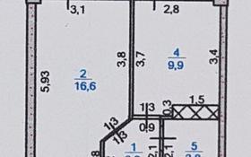 1-комнатная квартира, 37 м², 2/9 эт., 18 микрорайон 78А за 13 млн ₸ в Шымкенте, Енбекшинский р-н