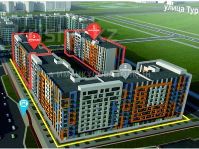 3-комнатная квартира, 81.79 м², Сыганак — Е-51 за ~ 21.7 млн 〒 в Нур-Султане (Астана), Есиль р-н — фото 2