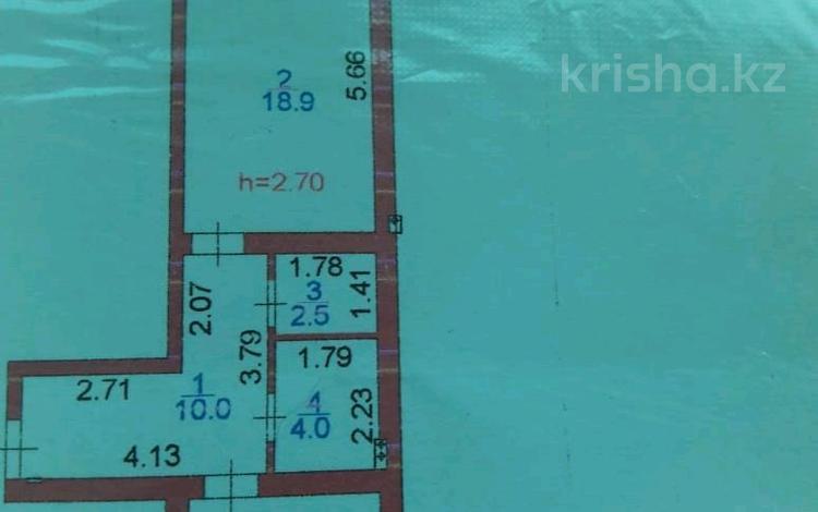 1-комнатная квартира, 48 м², 3/7 этаж, улица Е-356 4 за 20 млн 〒 в Нур-Султане (Астана)