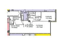 2-комнатная квартира, 94.5 м², 9/10 этаж