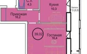 1-комнатная квартира, 39.02 м², 3/6 этаж, Шарбаккол за ~ 11.1 млн 〒 в Нур-Султане (Астана), Алматинский р-н
