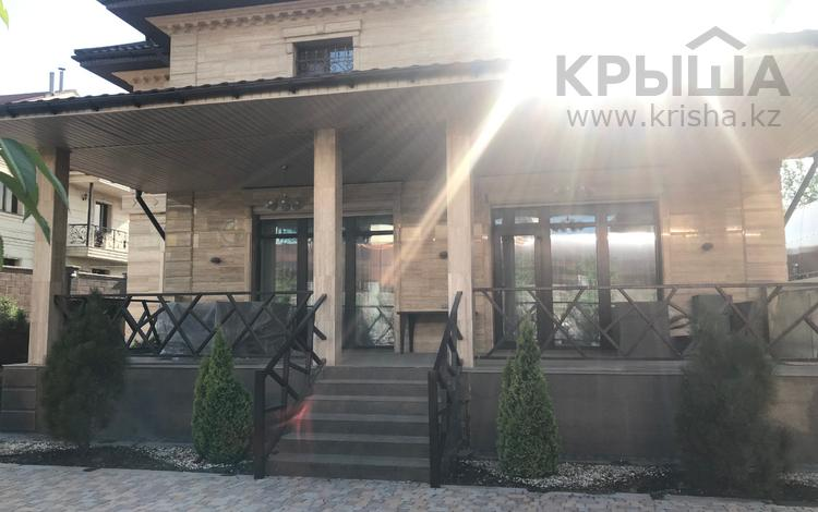 5-комнатный дом, 335.7 м², 10 сот., Байшешек 104 за 180 млн ₸ в Алматы, Бостандыкский р-н