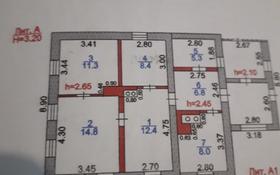 3-комнатный дом, 78 м², 15 сот., Молдагулова ,57 за 4.8 млн ₸ в Караганде, Октябрьский р-н
