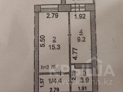 1-комнатная квартира, 34 м², 5/6 эт. помесячно, Юбилейный 37 за 50 000 ₸ в Костанае