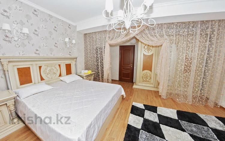 2-комнатная квартира, 90 м², 20/41 эт. посуточно, Достык 5/1 — Сауран за 15 000 ₸ в Астане, Есильский р-н