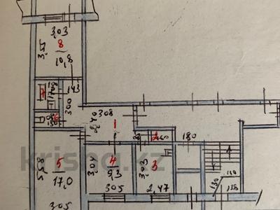 3-комнатная квартира, 62.3 м², 1/9 эт., Микрорайон 11 115 — Абылхайыр хана и Маншук Маметовой за 12.5 млн ₸ в Актобе, мкр 11
