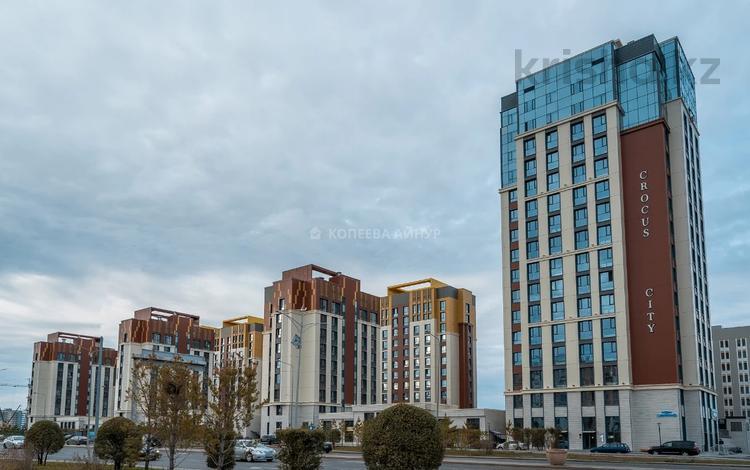 2-комнатная квартира, 77.42 м², 3/14 этаж, проспект Кабанбай Батыра 56 А — проспект Улы Дала за ~ 37.5 млн 〒 в Нур-Султане (Астане), Есильский р-н
