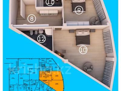 4-комнатная квартира, 204.1 м², 1/5 этаж, мкр Ерменсай, Арайлы 3 за 81.6 млн 〒 в Алматы, Бостандыкский р-н — фото 7