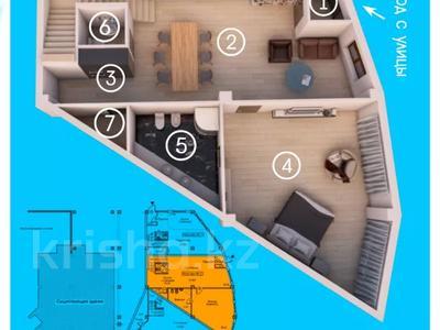 4-комнатная квартира, 204.1 м², 1/5 этаж, мкр Ерменсай, Арайлы 3 за 81.6 млн 〒 в Алматы, Бостандыкский р-н — фото 8