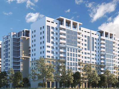 1-комнатная квартира, 46.3 м², Толе би — Гагарина за ~ 18.1 млн 〒 в Алматы, Алмалинский р-н