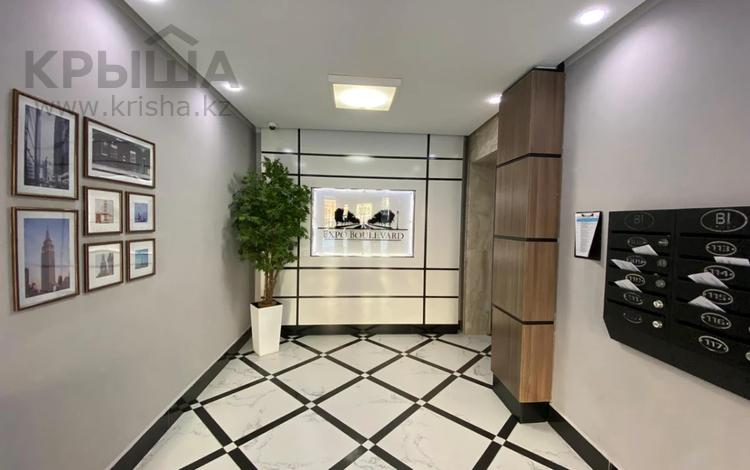 2-комнатная квартира, 58 м², 3/8 этаж, Кабанбай Батыра 58Б за 27.5 млн 〒 в Нур-Султане (Астана), Есиль р-н