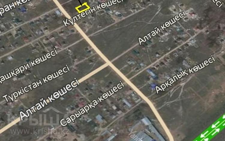 Участок 10 соток, Культегин 5 микрорайон — Абая за 4 млн 〒 в Косшы