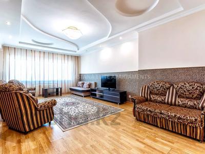 3-комнатная квартира, 150 м², 30/41 этаж посуточно, Достык 5/1 — Акмешет за 18 000 〒 в Нур-Султане (Астана), Есиль р-н — фото 3