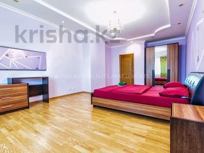3-комнатная квартира, 150 м², 30/41 этаж посуточно, Достык 5/1 — Акмешет за 18 000 〒 в Нур-Султане (Астана), Есиль р-н — фото 11