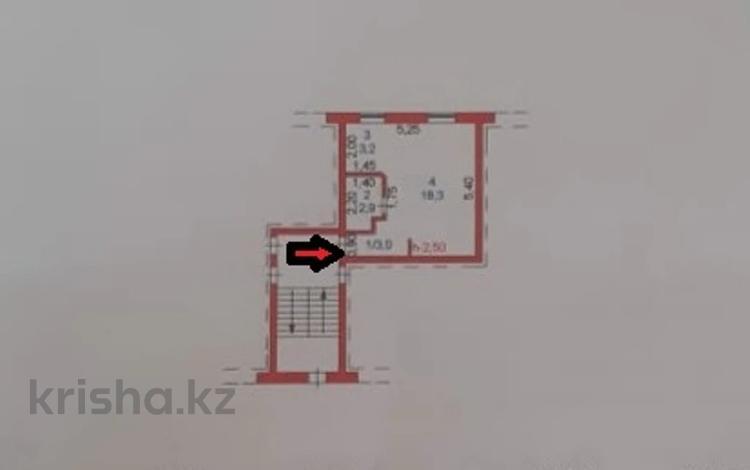 1-комнатная квартира, 27 м², 1/2 этаж, Окжетпес 147 за ~ 5.8 млн 〒 в Щучинске