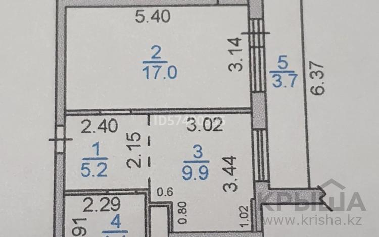 1-комнатная квартира, 41 м², 10/19 этаж, проспект Шахтёров 52 б за 12 млн 〒 в Караганде, Казыбек би р-н