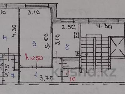 2-комнатная квартира, 53.8 м², 3/9 этаж, проспект Республики 47 — Комсомольский проспект за 5.3 млн 〒 в Темиртау
