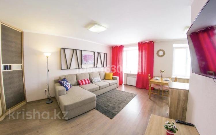 1-комнатная квартира, 45 м², 2/5 этаж посуточно, Батыс 2 1 за 8 000 〒 в Актобе, мкр. Батыс-2