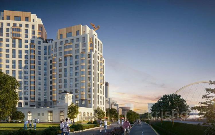 3-комнатная квартира, 88.87 м², Макатаева 2 — Наркесен за ~ 46.4 млн 〒 в Нур-Султане (Астана)