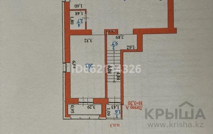 Помещение площадью 50 м², Тулебаева 25 — Шарбакты за 5.6 млн 〒 в Нур-Султане (Астана), Алматы р-н