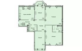 3-комнатная квартира, 159.96 м², ул. Тумар Ханым 20 — Карашаш Ана за ~ 128 млн 〒 в Нур-Султане (Астана), Есильский р-н