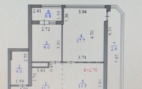 2-комнатная квартира, 58.6 м², 7/22 этаж, Тауелсиздик 34/1 за 23 млн 〒 в Нур-Султане (Астана), Алматы р-н