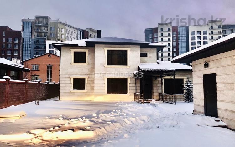 7-комнатный дом, 300 м², 10 сот., Кыз жибек 28/8 за 480 млн 〒 в Нур-Султане (Астана), Есиль р-н