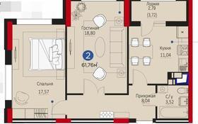 2-комнатная квартира, 62 м², 6/16 этаж, Мухамедханова 4 за 29.5 млн 〒 в Нур-Султане (Астане), Есильский р-н
