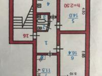3-комнатный дом, 59.2 м²