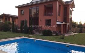 8-комнатный дом помесячно, 450 м², 12 сот., мкр Мирас за 1.2 млн 〒 в Алматы, Бостандыкский р-н