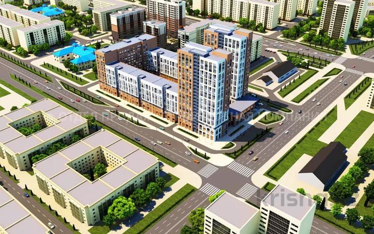 2-комнатная квартира, 62.55 м², Айнакол за ~ 13.9 млн 〒 в Нур-Султане (Астана), Алматы р-н