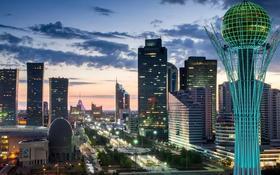 1-комнатная квартира, 60 м², 2/9 этаж по часам, Сауран 21/1 — Акмешит за 1 000 〒 в Нур-Султане (Астана)