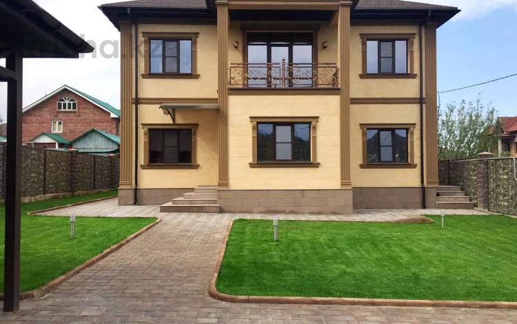 6-комнатный дом, 265 м², 8.1 сот., мкр Ерменсай за 133 млн 〒 в Алматы, Бостандыкский р-н